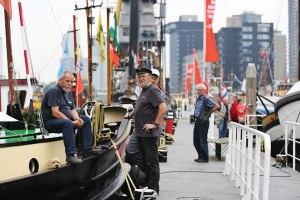 De Leuvehaven in Rotterdam (Foto: Fred Ernst)