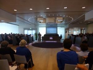 De lezingenreeksen vonden plaats in het stadhuis van Harderwijk (Foto: Jirsi Reinders)