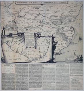 Nieuws over de verovering van Paraiba in 1634.